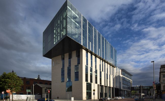 University of Ulster, Belfast for McLaughlin & Harvey,  July 2015